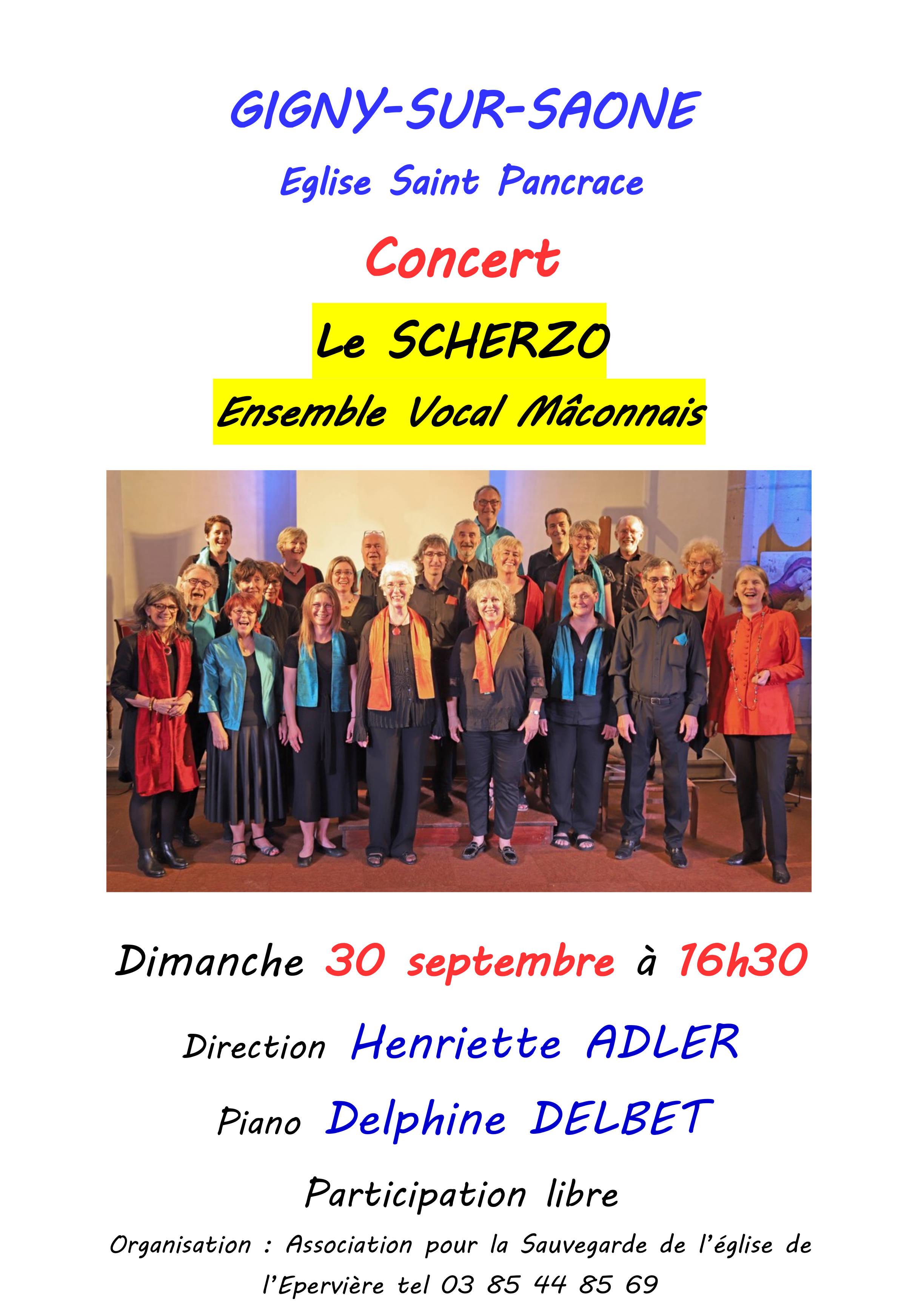 Concert à Gigny